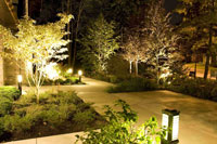 Garden Lighting by Markville Landscaping